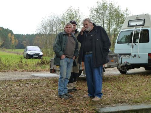 Abfischen Poppendorf und Besatz 2012